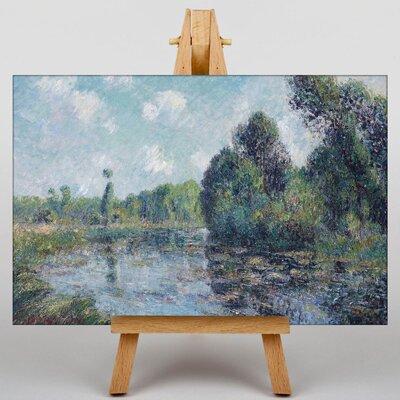 Big Box Art Gustave Loiseau River Landscape by Gustave Caillebotte Art Print on Canvas