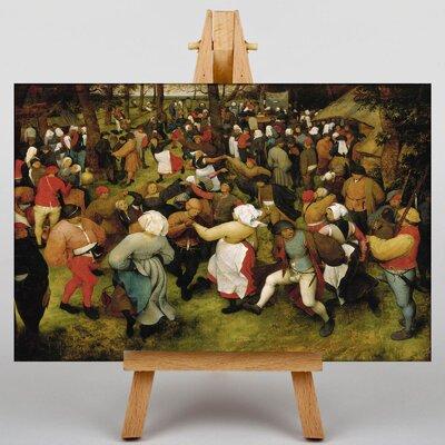 Big Box Art The Elder Wedding Dance by Pieter Bruegel Art Print on Canvas