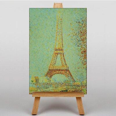 Big Box Art Tower Paris by Georges-Pierre Seurat Art Print on Canvas