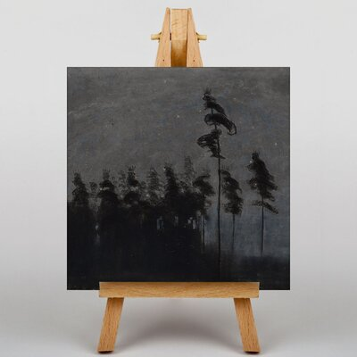 Big Box Art Ciurlionis Moonlit Forest by Mikalojus Konstantinas Art Print on Canvas