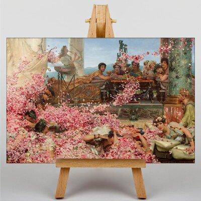 Big Box Art The Roses of Heliogabalus by Lawrence Alma-Tadema Art Print on Canvas