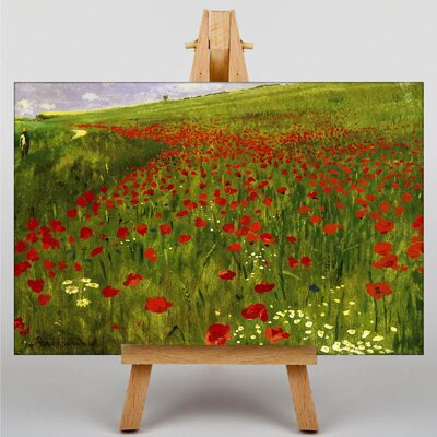 Big Box Art Meadow with Poppies by Pal Merse Art Print on Canvas