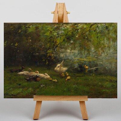 Big Box Art Duck Heaven by Willem Maris Art Print on Canvas