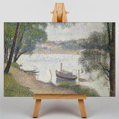 Big Box Art Jatte by Georges-Pierre Seurat Art Print on Canvas