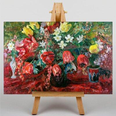 Big Box Art Tulip Study by Pal Merse Art Print on Canvas