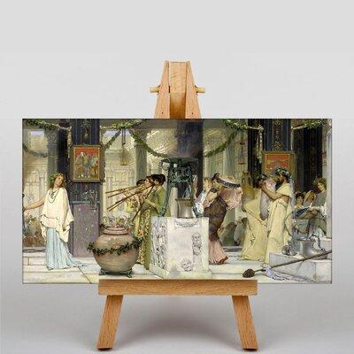 Big Box Art The Festival by Lawrence Alma-Tadema Art Print on Canvas