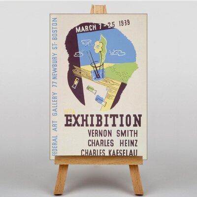 Big Box Art Exhibition No.13 Vintage Advertisement on Canvas