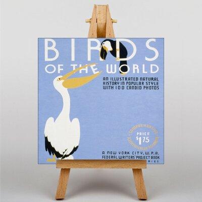 Big Box Art Birds of the World Vintage Advertisement on Canvas