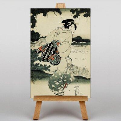 Big Box Art Japanese Oriental No.2 by Utagawa Kunisada Graphic Art on Canvas