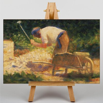 Big Box Art The Storm Breaker by Georges-Pierre Seurat Art Print on Canvas