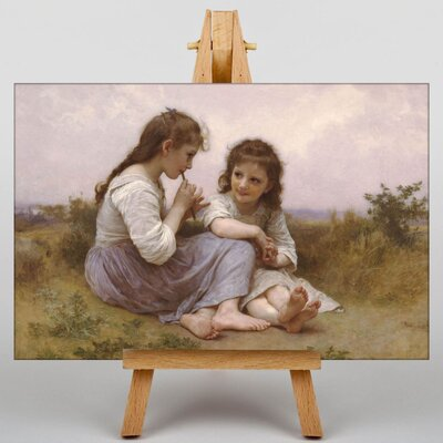 Big Box Art A Childhood Idyll by William Adolphe Bouguereau Art Print on Canvas