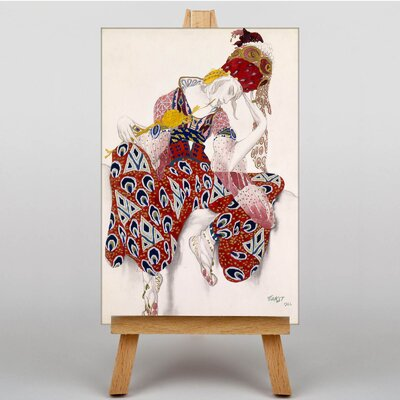 Big Box Art Costume Design by Leon Bakst Art Print on Canvas