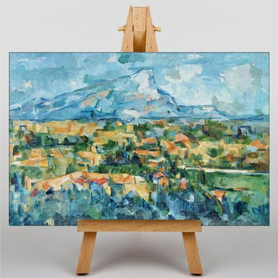 Big Box Art Landscape by Paul Cezanne Art Print on Canvas