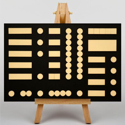 Big Box Art Arp Composition by Sophie Teauber Graphic Art on Canvas