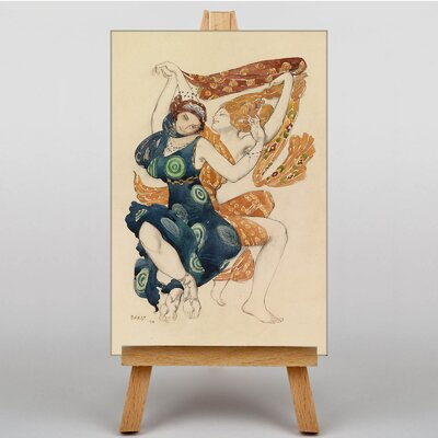 Big Box Art Narcisse by Leon Bakst Art Print on Canvas