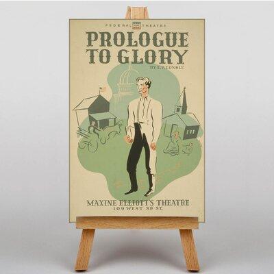 Big Box Art Prologue to Glory Vintage Advertisement on Canvas