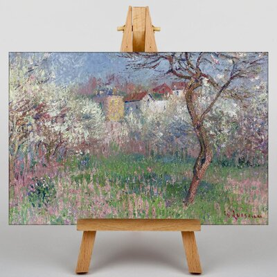 Big Box Art Gustave Loiseau Landscape by Gustave Caillebotte Art Print on Canvas