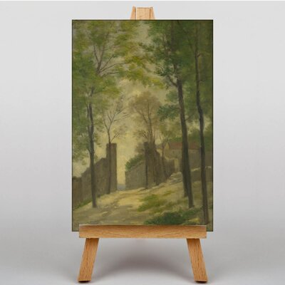 Big Box Art Landscape by Stanislas Lepine Art Print on Canvas