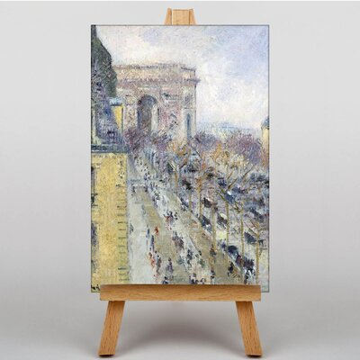Big Box Art The Place De L'Etoile No.2 by Gustave Loiseau Art Print on Canvas