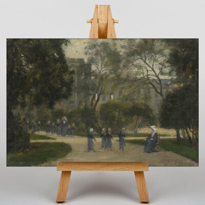 Big Box Art Nuns and Schoolgirls by Stanislas Lepine Art Print on Canvas
