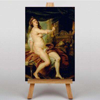 Big Box Art Sacrificing Dido by Peter Paul Rubens Art Print on Canvas