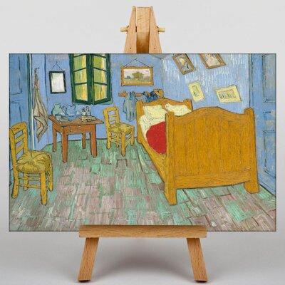 Big Box Art The Bedroom by Vincent Van Gogh Art Print on Canvas
