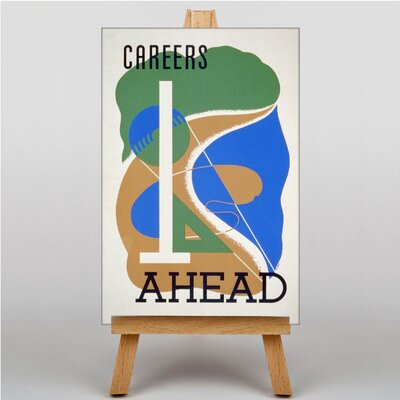 Big Box Art Careers Ahead Graphic Art on Canvas
