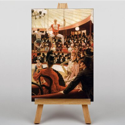 Big Box Art The Circus Lover by James Tissot Art Print on Canvas