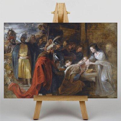 Big Box Art The Adoration of the Magi by Peter Paul Rubens Art Print on Canvas
