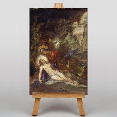 Big Box Art No.2 by Gustave Moreau Art Print on Canvas