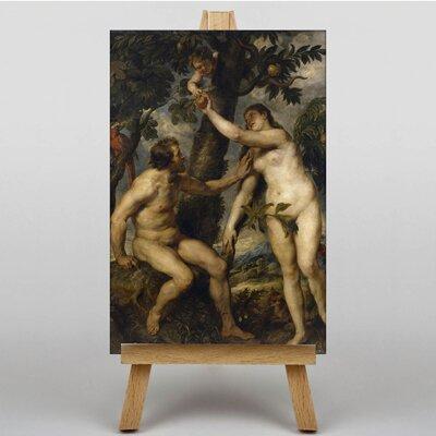 Big Box Art The Fall of Man by Peter Paul Rubens Art Print on Canvas
