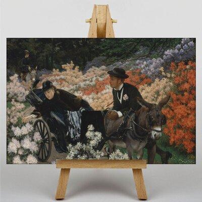Big Box Art The Morning Ride by James Tissot Art Print on Canvas