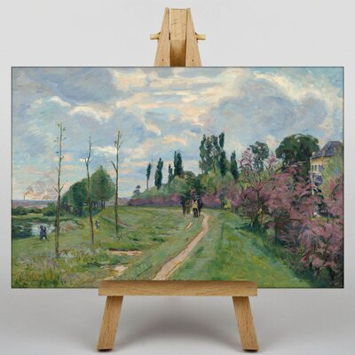 Big Box Art Landscape in France by Armand Guillaumin Art Print on Canvas