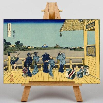 Big Box Art Japanese Oriental Sazai Hall by Katsushika Hokusai Graphic Art on Canvas