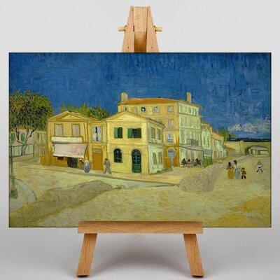 Big Box Art The Yellow House by Vincent Van Gogh Art Print on Canvas