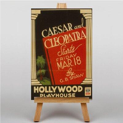 Big Box Art Cesa and Cleopatra Vintage Advertisement on Canvas