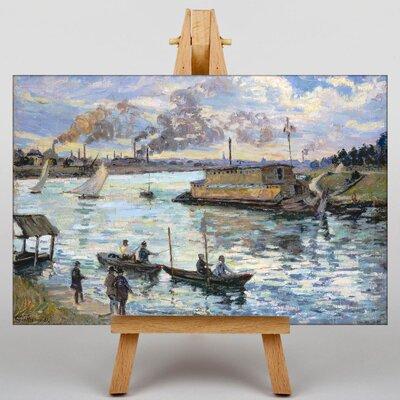 Big Box Art River Scene by Armand Guillaumin Art Print on Canvas