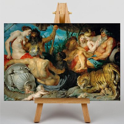 Big Box Art The Four Continents by Peter Paul Rubens Art Print on Canvas