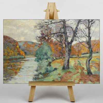 Big Box Art The Echo Rock Creuse by Armand Guillaumin Art Print on Canvas