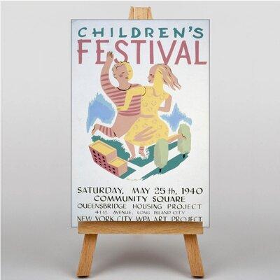 Big Box Art Children's Festival Vintage Advertisement on Canvas