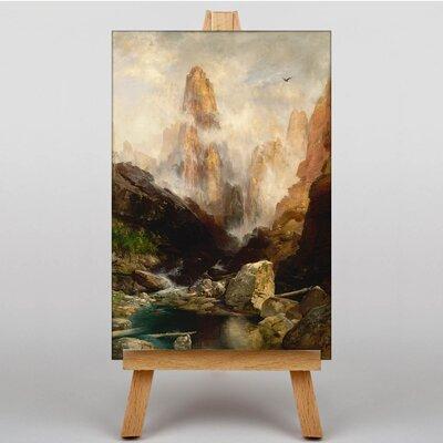 Big Box Art Mist in Kanab Canyon Utah by Thomas Moran Grand Art Print on Canvas