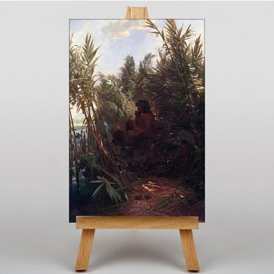 Big Box Art Pan in the Reed by Arnold Bocklin Art Print on Canvas