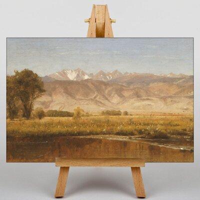 Big Box Art Foothills of Colorado by Thomas Worthington Whittredge Art Print on Canvas