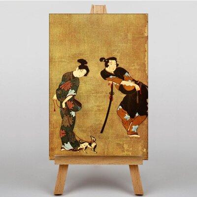 Big Box Art No.2 Japanese Oriental Art Print on Canvas