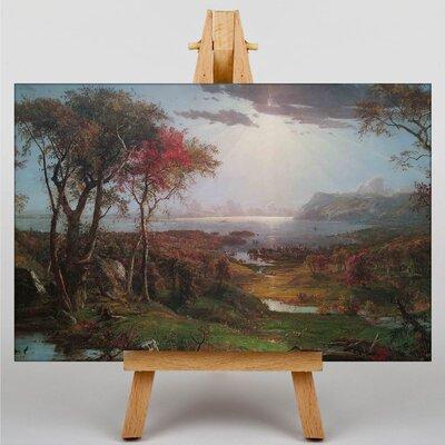 Big Box Art Autumn Landscape by Jasper Francis Cropsey Art Print on Canvas