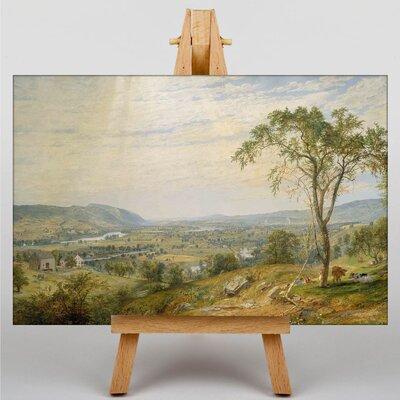 Big Box Art The Valley by Jasper Francis Cropsey Art Print on Canvas