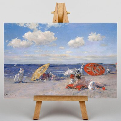 Big Box Art At the Seaside by William Merritt Chase Art Print on Canvas