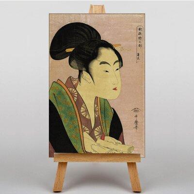 Big Box Art Japanese Oriental No.10 by Kitagawa Utamaro Art Print on Canvas