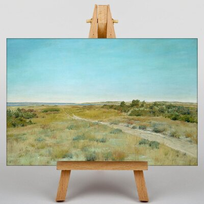 Big Box Art First Touch of Autumn by William Merritt Chase Art Print on Canvas