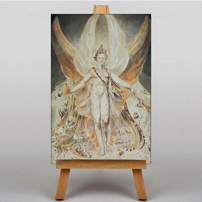 Big Box Art in his Original Glory by William Blake Art Print on Canvas